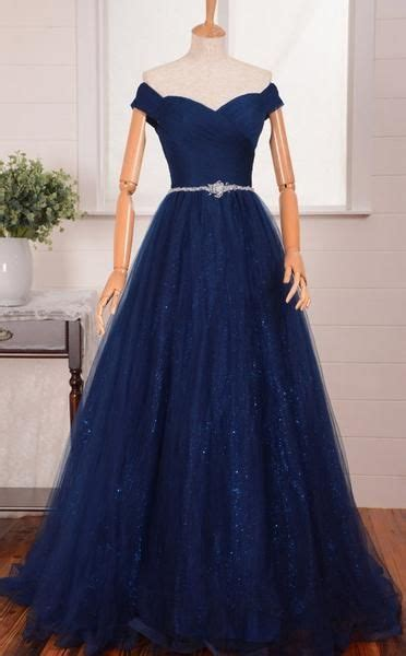 vestidos xv anos azul marino super elegantes