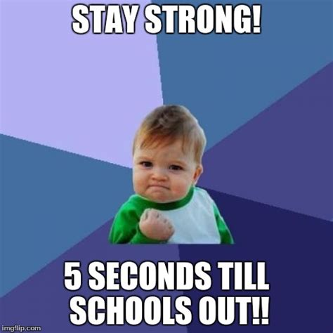 Be Strong Meme - success kid meme imgflip
