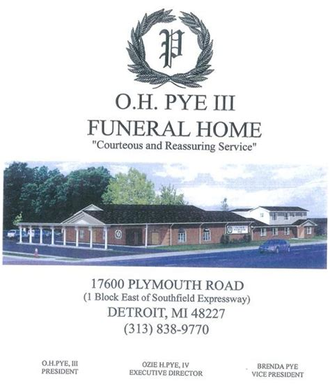oh pye funeral home obituaries 28 images resources o h