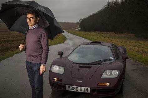 rowan atkinsons mclaren rebuild classic sports car