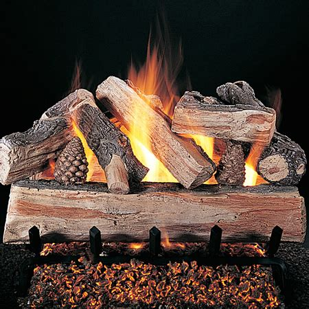 rasmussen crossfire vented gas log set woodlanddirect