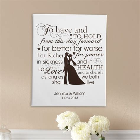 Wedding Vows Gift by Wedding Vows For Him