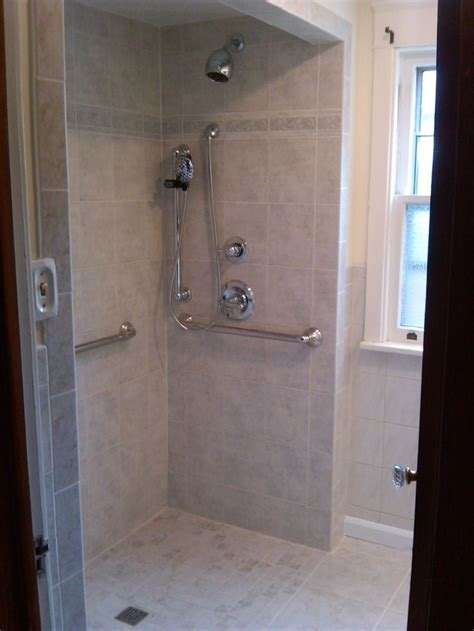 roll  shower grab bars  hand held shower shower