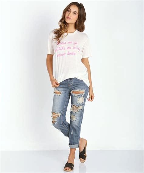 take me to my house wildfox take me to my dream house your boyfriend tee wtj13585d free shipping at