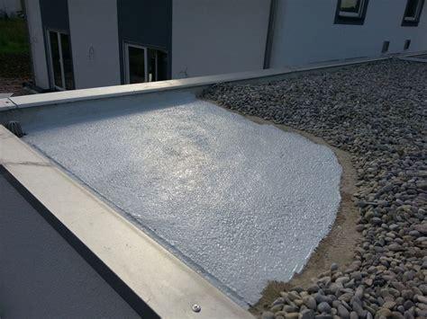 flachdach undicht abdichten fertiggarage dach abdichten carport dach abdichten