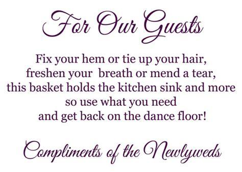 poem for bathroom basket at wedding reception wedding printable bathroom basket poem sign digital files receptions wedding and