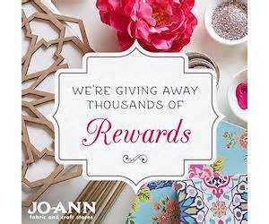 Joann Fabric Gift Card Online - jo ann fabrics early notice to free jo ann gift card rewards giveaway simplee thrifty