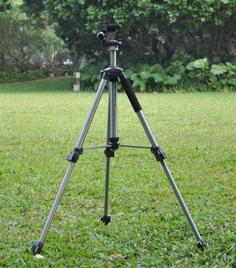 Top Teropong Binocular Kamera Tripod visionking high quality heavy duty steel tripod 4 binoculars spotting scope mounts telescope
