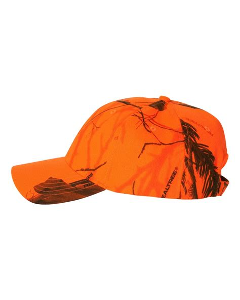 blaze orange camo hat realtree blaze orange safety camouflage hat cap