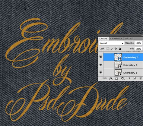 photoshop cs3 stitching tutorial embroidery effect on photoshop makaroka com