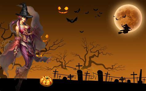imagenes de halloween fondo de pantalla fondo de imagen anime girl halloween night