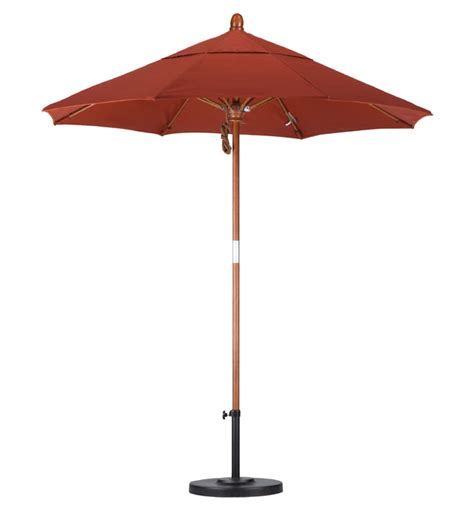 Wooden Patio Umbrella Object Moved