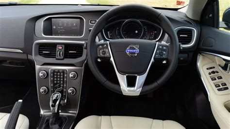 volvo hatchback interior volvo v40 hatchback interior dashboard satnav carbuyer