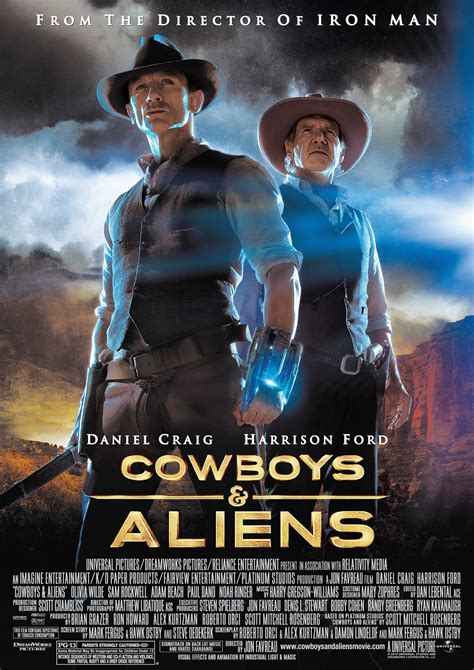 sinopsis film cowboy and alien image cowboys and aliens movie poster daniel craig1 jpg