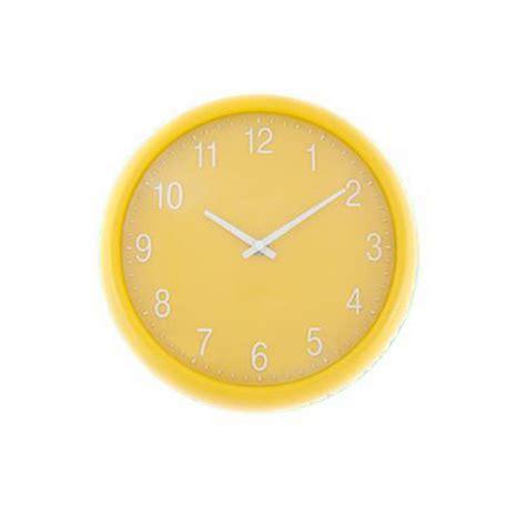 yellow kitchen clock yellow quartz wall clock unique home living