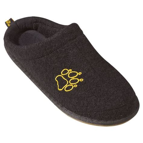 comfortable house slippers jack wolfskin cloud ten mens new wool felt slippers cosy