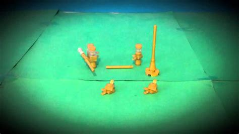 lego trumpet animation youtube