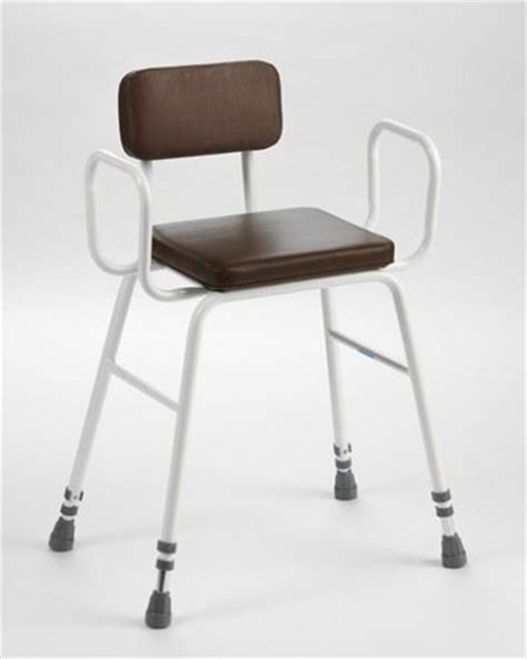 height adjustable perching stool seat kitchen chair padded