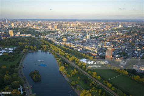 aerial view of hyde park stock photo getty images