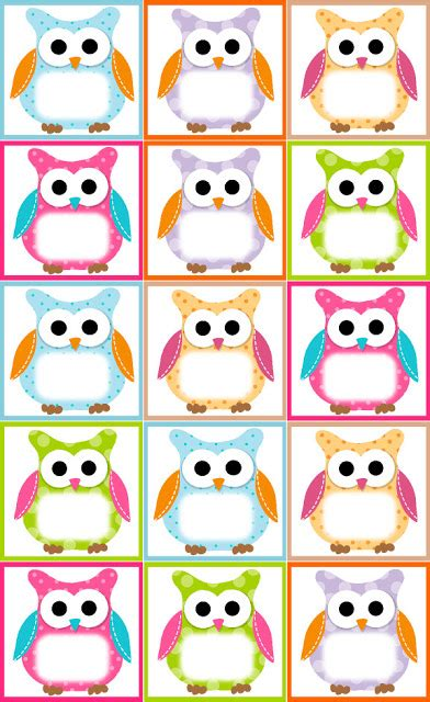 printable owl birthday chart recursos educativos flapjack owl tarjeta de cumplea 241 os