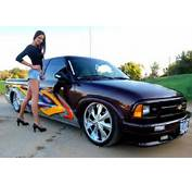 Heidi With A Custom Chevrolet S 10 Truck  Cars