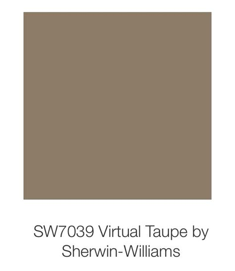 sherwin williams taupe virtual taupe by sherwin williams paint colors color
