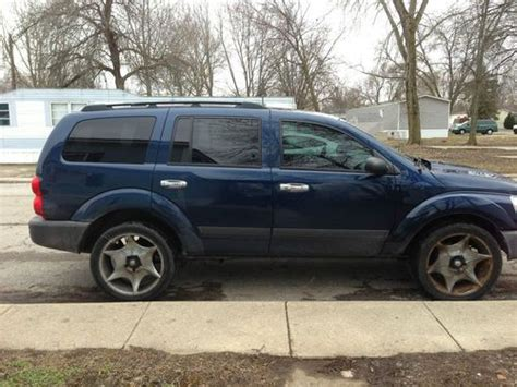sell used 2005 dodge durango sxt sport utility 4 door 4 7l in marysville ohio united states