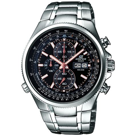 casio efr 506d 1avef s edifice stainless steel day