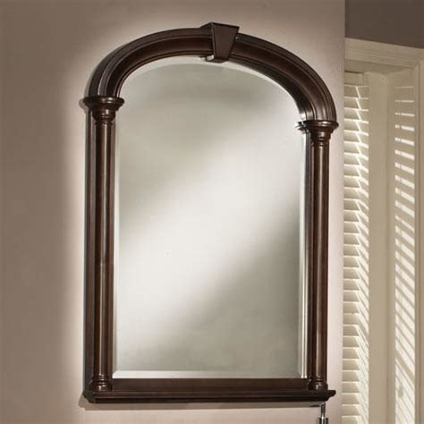 traditional bathroom mirrors 31 quot palladio bathroom vanity mirror traditional