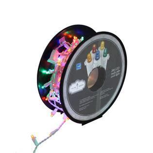 trim a home lights reviews trim a home multicolor led icicle lights kmart