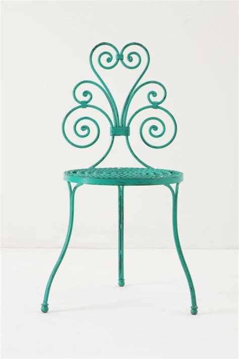 Turquoise Bistro Chair 37 Best Wrought Iron Chairs Etc Images On Pinterest Wrought Iron Chairs Chairs And Wrought Iron