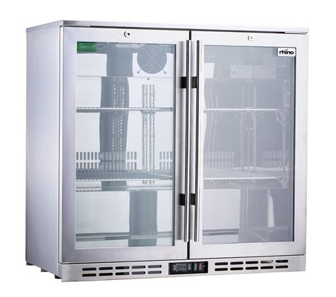 Rhino Triple Glazed Glass 2 Door Commercial Alfresco Glass Door Fridge Australia