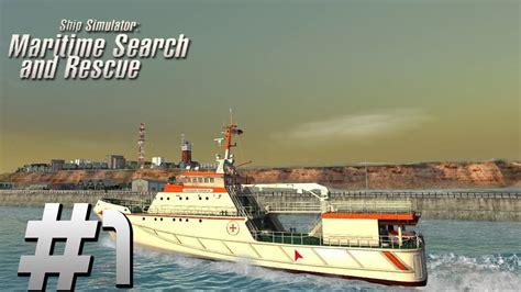 schip zoeken ship simulator maritime search and rescue episode 1 youtube