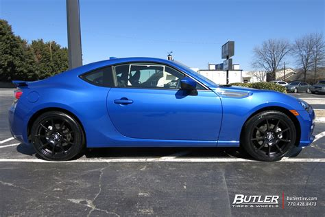 Subaru Brz With 18in Tsw Interlagos Wheels Exclusively