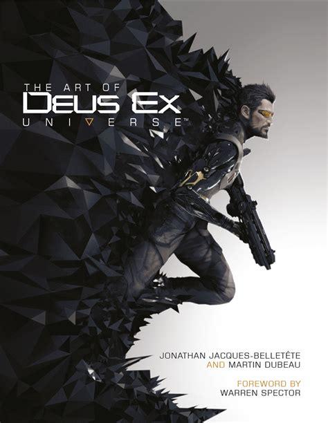 the art of deus titan books cover reveal the art of deus ex universe