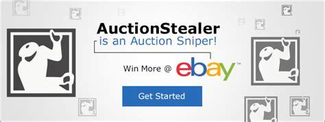 bid sniper uk auctionstealer uk free ebay auction sniper