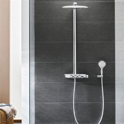 Rainshower Dusche by Grohe Rainshower Smartcontrol With Thermostat Shower