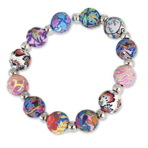 viva bracelets splash of multi chunky bracelet viva