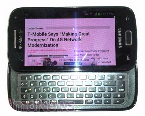 Hp Samsung Galaxy S Blaze Q samsung galaxy s blaze q from t mobile sounds