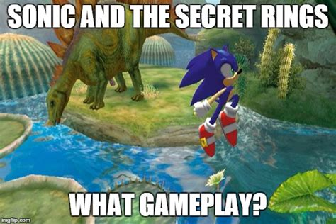 Sonic Rings Meme - image tagged in sonic imgflip