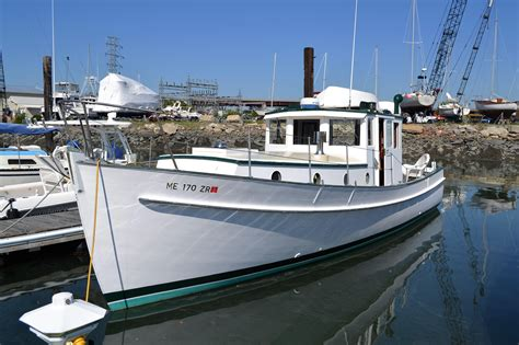 pilot house boats 1961 pilot house trawler power boat for sale www