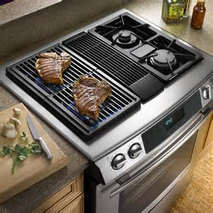 Jennair slide in downdraft electric range jes9800aaq pictures to pin