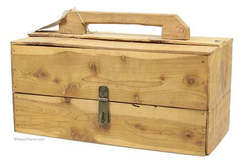 Wedding Tackle Box by Vintage Handmade Wooden Tackle Box