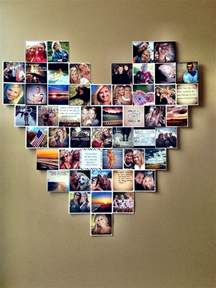 collage designs heart photo collage dorm room ideas instagram pictures