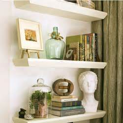 Living Room Wall Decor Shelves Living Room Decorating Ideas Floating Shelves