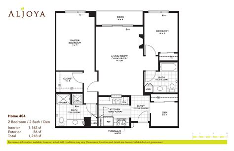 two bedroom two bath floor plans 2bedroom 2bath house plans numberedtype