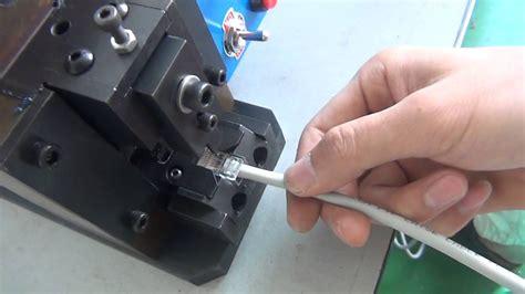 Konektor Rg 45 hc pc rg45 connector crimping machine
