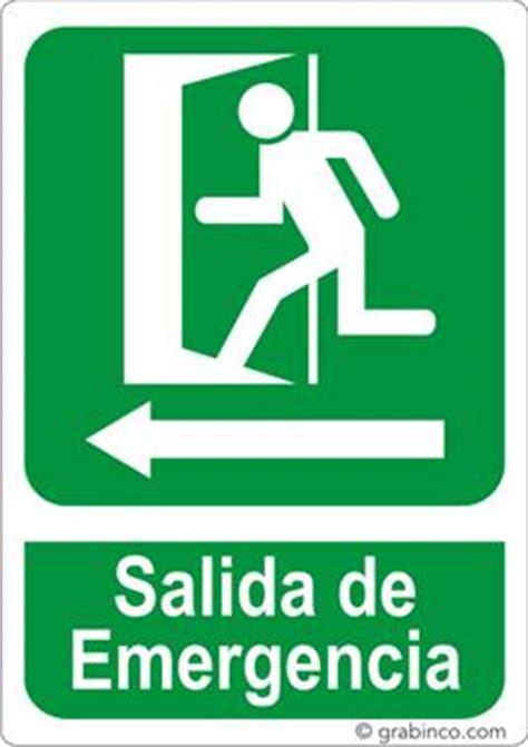 placas de salida de emergencia en mexico placa se 209 al salida de emergencia a la izquierda grabinco com