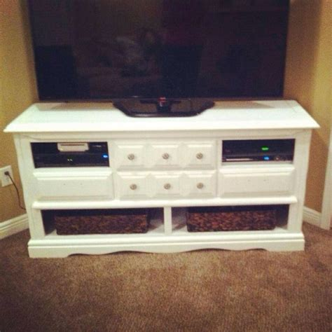 How To Turn Dresser Into Entertainment Center by Dresser Into Entertainment Center For The Home