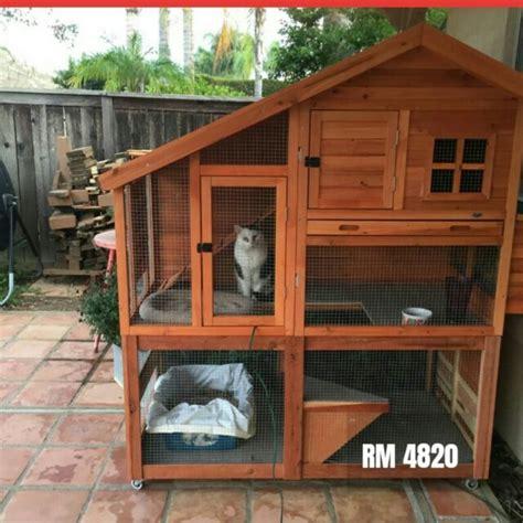 Kandang Kucing Anggora Dari Kayu cat house rumah kucing custom make pet supplies